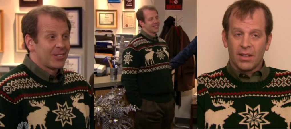 Where Can I Get The Sweater Toby Flenderson Is Wearing In Classy