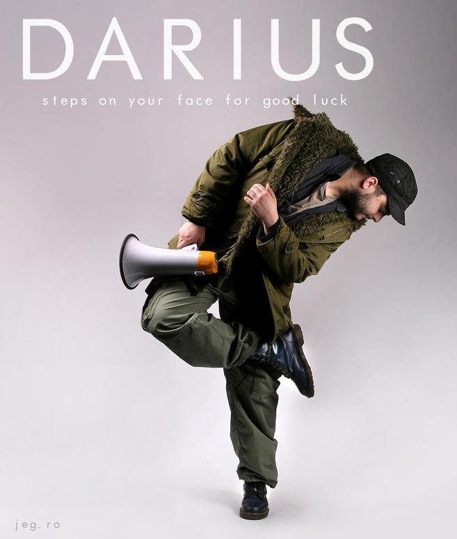 DariusStepsGoodLuck