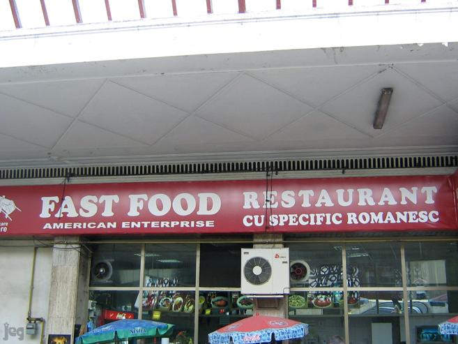 FastfoodRomanesc